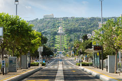 Bahai ogródy w Haifa Zdjęcie Stock