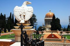 Bahai Shrines in Haifa Stock Photography