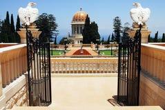 The Bahai Shrines in Haifa Stock Photo