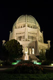 Bahai Tempel bei Chicago Stockfotografie