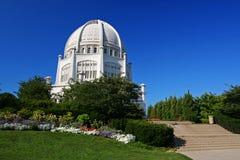Bahai tempel i Chicago, IL, USA Royaltyfria Bilder