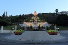 Bahai-Tempel und Garten, Haifa Lizenzfreies Stockbild