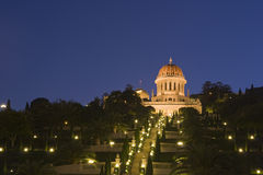 The Bahai temple. At Haifa royalty free stock photography
