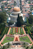 The Bahai temple Stock Photos