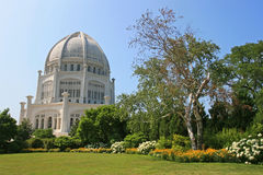 Bahai Temple in Chicago. Bahai Temple or church in Chicago, IL Royalty Free Stock Photography