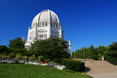 Bahai Temple in Chicago, IL, US Royalty Free Stock Images
