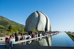 Bahai Temple in Chile royalty free stock photography
