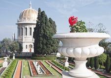 Bahai temple at the city of haifa, israel Stock Photo