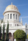 Bahai temple at the city of haifa, israel Stock Photography