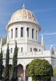 Bahai temple at the city of haifa, israel stock photography