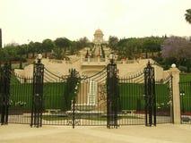 Bahai Temple in Haifa city, Israel Stock Image