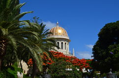 Bahai Temple Royalty Free Stock Photos