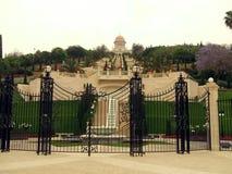 Bahai temple, Haifa, Israel, Middle East Royalty Free Stock Images
