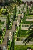 Bahai temple in Haifa Stock Photos