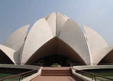 Bahai Temple India Stock Photography