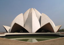 Bahai Temple India Royalty Free Stock Photography