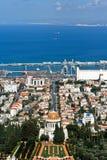 bahai trädgårds- haifa israel Royaltyfri Foto