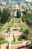 bahai uprawia ogródek Haifa Zdjęcia Royalty Free