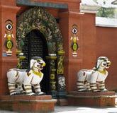 bahal kumari尼泊尔宫殿 库存图片
