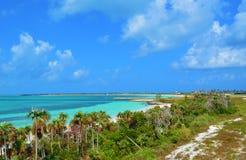 Bahama blått Arkivbild