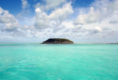 Bahama Island. Beautiful private and secluded island in the Bahamas Royalty Free Stock Images