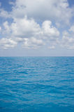 Bahama Surface Clouds Portrait Royalty Free Stock Photo