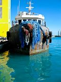 Bahama tugboat Royalty Free Stock Photography