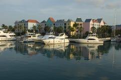 bahamaförorter Arkivfoto