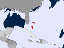 bahamas översikt Royaltyfri Fotografi