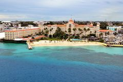 Bahamas. Atlantis , Paradise Island , Nassau , Bahamas Royalty Free Stock Photo