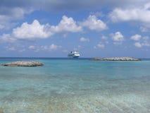 Bahamas. Cruise Ship Stock Image