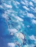 Bahamas antenn Arkivfoton