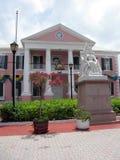 Bahamas-Aufbauen stockbild