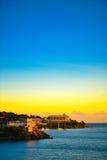 Bahamas beachfront hotel Royalty Free Stock Image