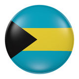 Bahamas button Stock Images