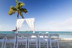 Bahamas, Cable Beach. Bahamas, the golden sands of Cable Beach stock photo