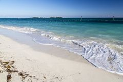 Bahamas, Cable Beach. Bahamas, the golden sands of Cable Beach stock photography