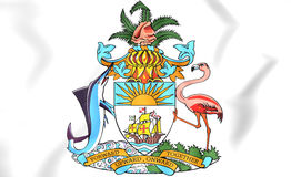 Bahamas Coat of Arms Stock Photos