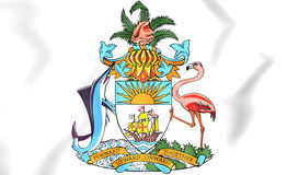 Bahamas Coat of Arms. Stock Photos