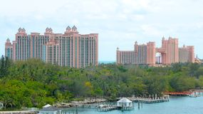 Bahamas de Atlantis Nassau Imagem de Stock
