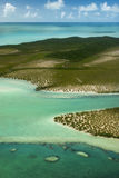 Bahamas del cielo, isla del bosque Fotos de archivo