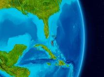Bahamas do espaço Foto de Stock