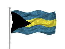 Bahamas Flag 2 Royalty Free Stock Photography