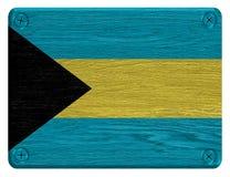 Bahamas flag Stock Photography