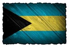 Bahamas flagga Arkivbilder