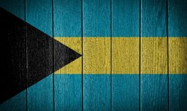 bahamas flagga Arkivbild