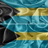 Bahamas-Flagge Lizenzfreie Stockfotografie
