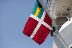 Bahamas-Flagge Stockfoto