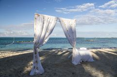 Bahamas, Cable Beach. Bahamas, the golden sands of Cable Beach stock images