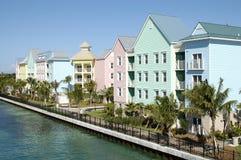 bahamas hamnnassau yacht Fotografering för Bildbyråer